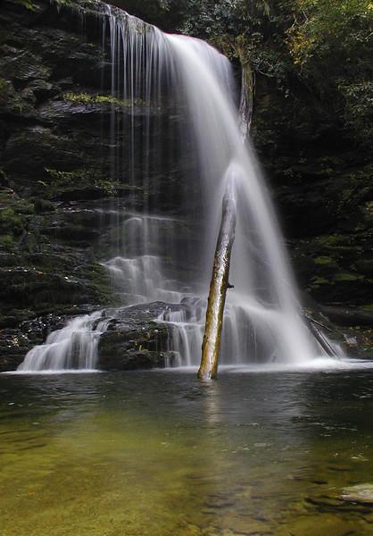 Lower Bear Wallow Falls NC