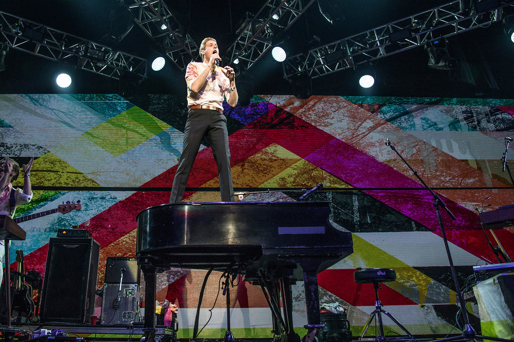 . Andrew McMahon performs at the 2016 KROQ Almost Acoustic Christmas at The Forum on Sunday, Dec. 11, 2016, in Inglewood, Calif. Andrew McMahon In The Wilderness will perform March 31 at House of Blues Cleveland. For more information, visit houseofblues.com/cleveland. (Photo by Amy Harris/Invision/AP)