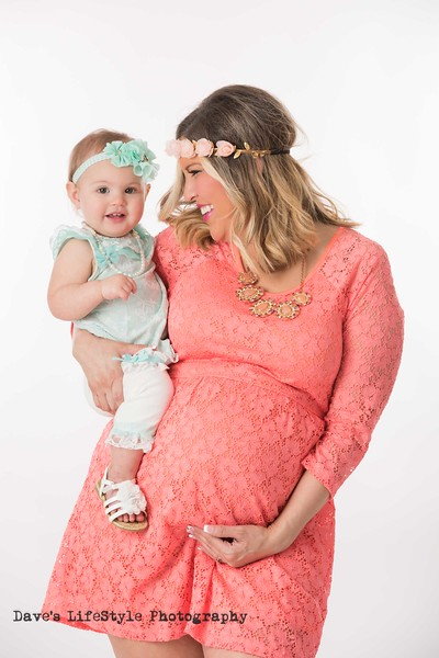 Natalie and Scarlett Maternity