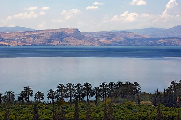 Sea of Galilee , Jordan River and the northern streams