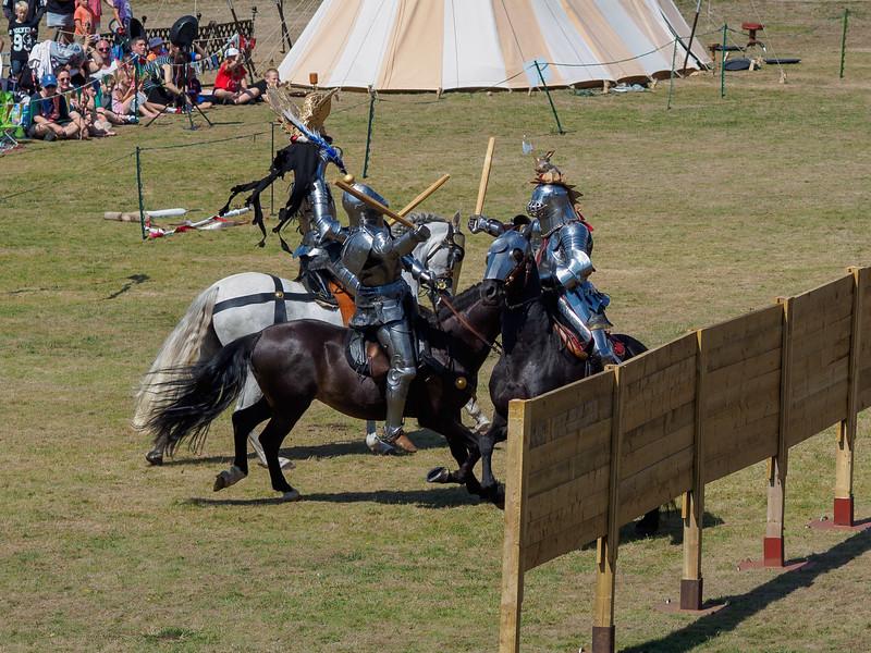 Carisbrooke Castle medieval events