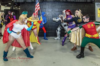 NJ Comic Expo 2016 Infinity/Titans