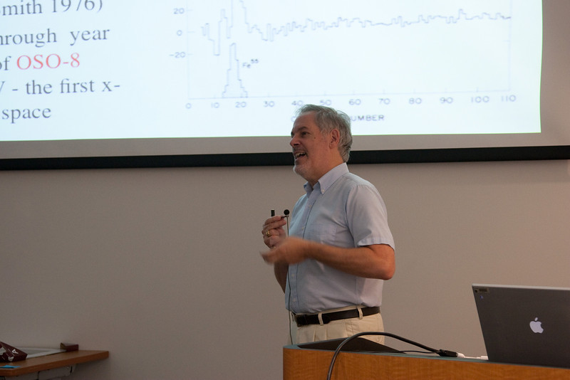 Richard Mushotzky -- Celebration of Peter Serlemitsos' 50 years at NASA/Goddard Space Flight Center (Sept 2011)