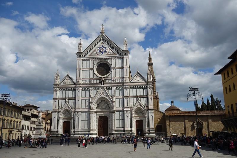 Santa Croce Basilica -3 days in Florence Itinerary