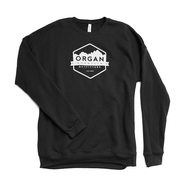 Organ Mountain Outfitters - Outdoor Apparel - Hoodie - Classic Drop Shoulder Sweatshirt - Black.jpg