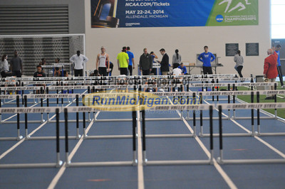 Women's Hurdles - 2014 GVSU 5-Way Indoor Meet