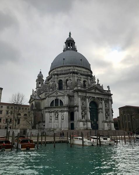 Santa Maria della Salute, Venice.