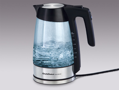 Chef's Choice electric tea kettle