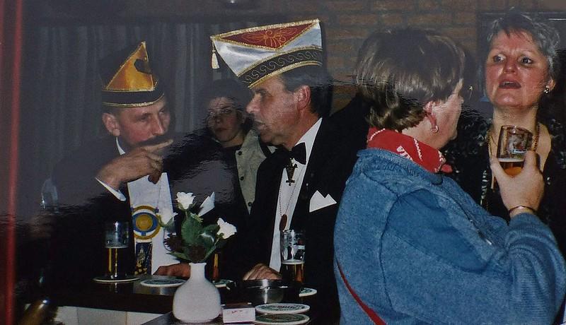 Kolpinghuis met links Erik Kleinschiphorst en Jan Albers