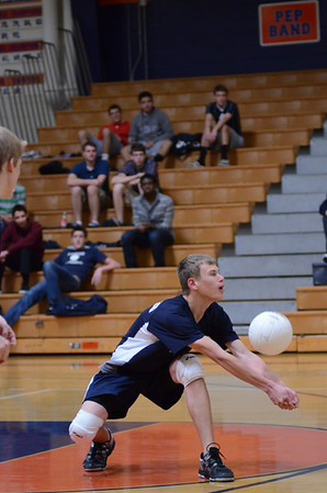 Oswego East soph. boys volleyball Vs Oswego 2012