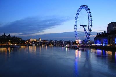London at Dawn - The Southbank