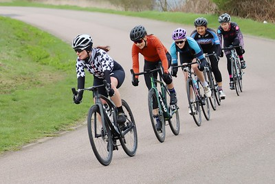 West Drayton Spring Crits. 2020. Ladies & cat 4s.
