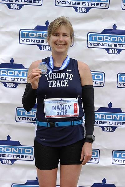 Toronto 10K Nancy Award.jpg