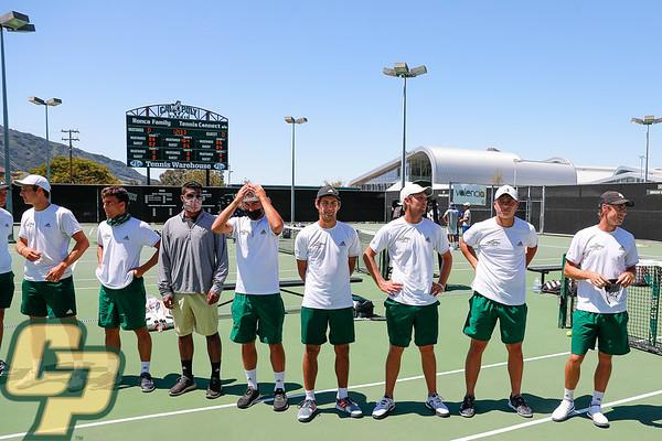 Cal Poly Men's Tennis Vs. UCR 04182021