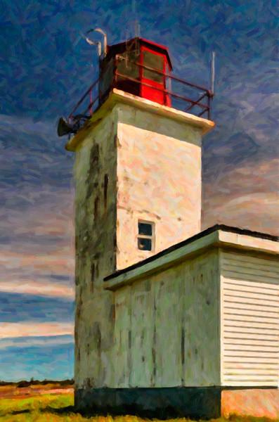 Lighthouse Photo Painting