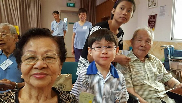 We enjoyed our Bingo Game with the elderly