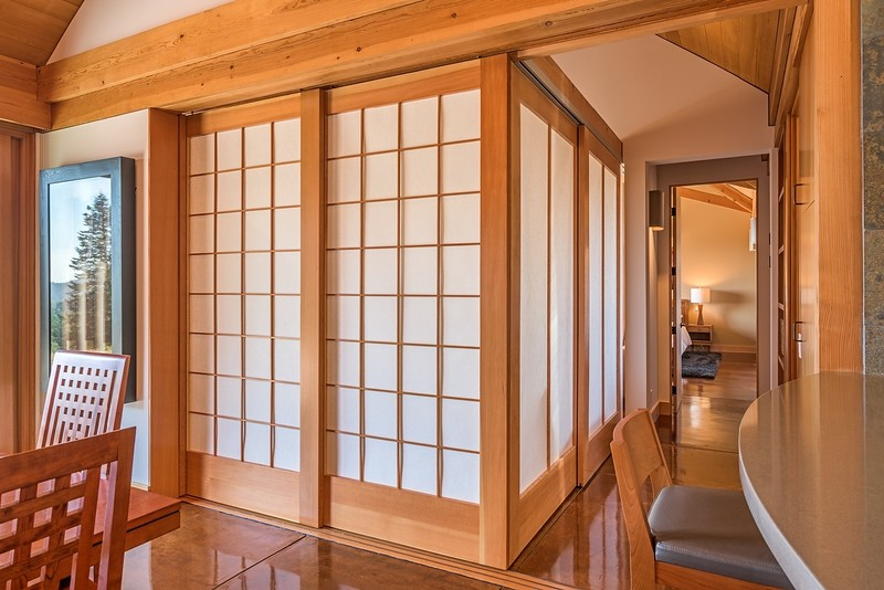 Guest Room with Closed Shoji Screens