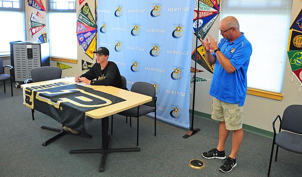 Nate's Purdue Signing Ceremony