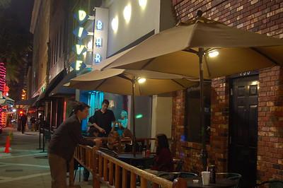 Bay Street at Night