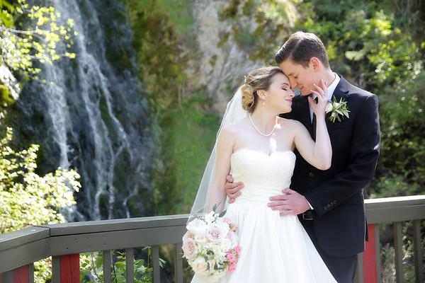 May 13, 2017 - Julia Jones and Brandon Moncur