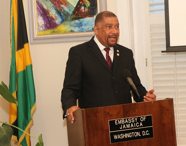 H.E. Mr. Ralph Thomas Jamaica's Ambassador to the United States of America Farewell Celebration