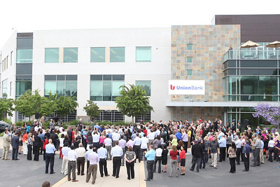 UB Ribbon Cutting and Town Hall