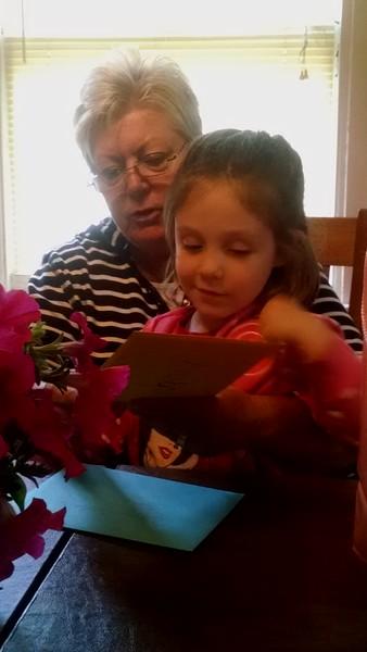 Happy Birthday Mom! June 2015