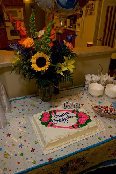 Clara Klindt's 100th Birthday (8.10.07)