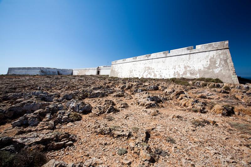 Fortress of Sagres, town of Sagres, municipality of Vila do Bispo, district of Faro, region of Algarve, southwestern Portugal