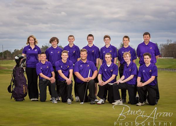 M Golf Team 2015