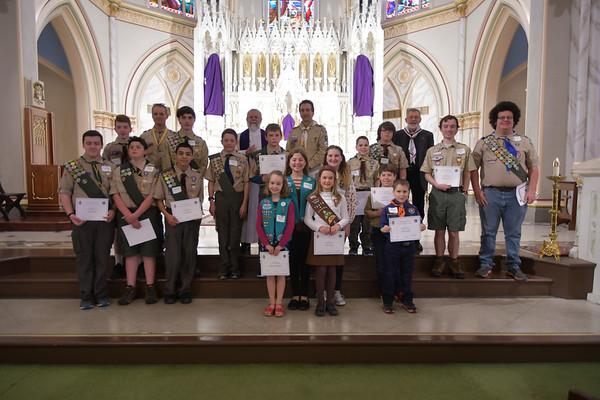 Catholic Scouting Awards
