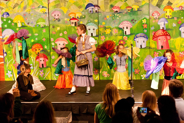Pacific School Production of Wizard of Oz Play 2011