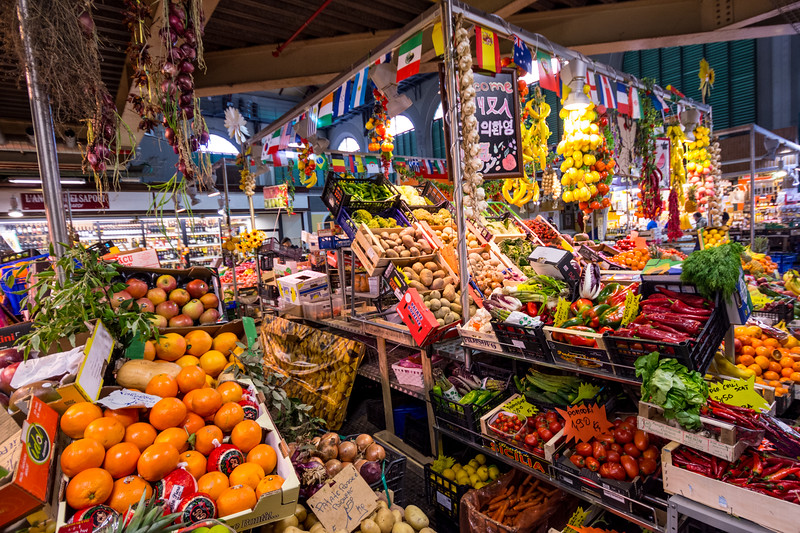 Central Market, Florence, Italy