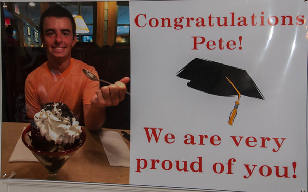 Pete's Graduation Party 8/16/2015