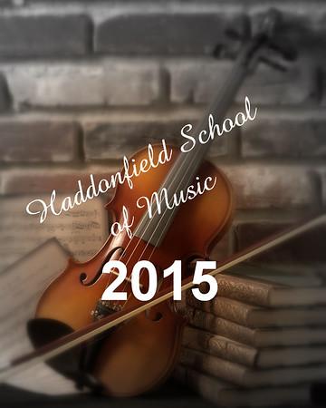 Haddonfield School of Music 2015