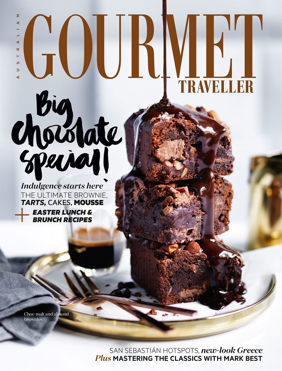 Gourmet Traveller magazine (photo credit: Bauer Media Australia)