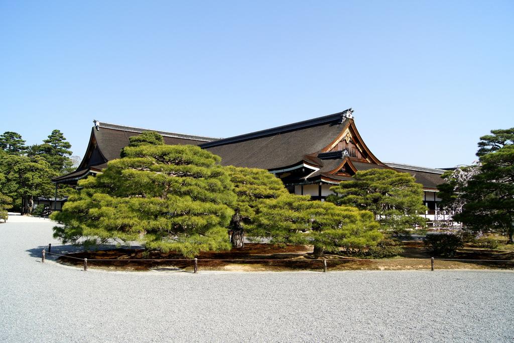 Palazzo Imperiale di Kyoto (Kyoto Gosho) 15-04-28