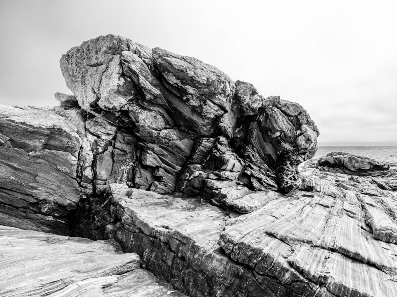 The Rocks at Pemaquid Point