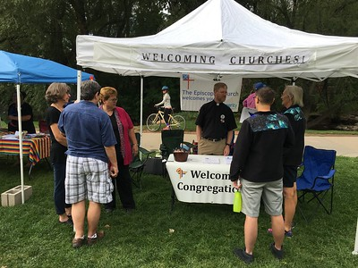 Episcopal Churches at Boulder PrideFest - 9/11/16