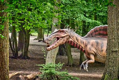 Grovelands Park Dinosaur Photowalk