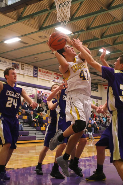 Basketball bjv Schoolcraft - KCHS - 1/12/17