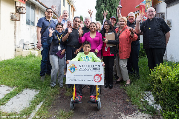 Wheelchair Deliveries to the Homebound in Puebla
