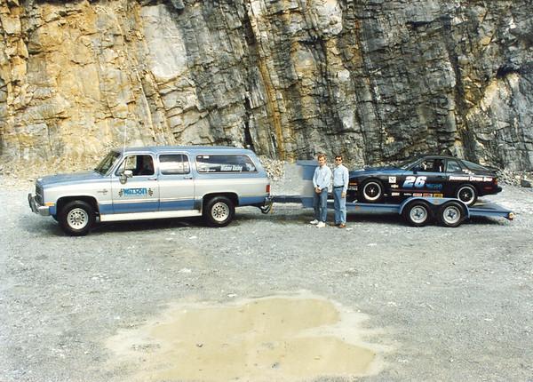 Old Photos of Porsche / Truck / Trailer