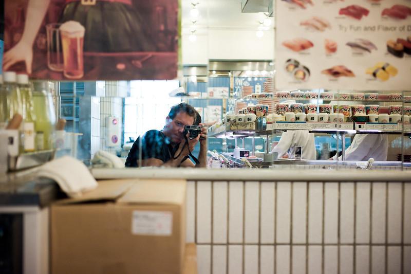 Sushi shop. Kabukicho, Shinjuku.