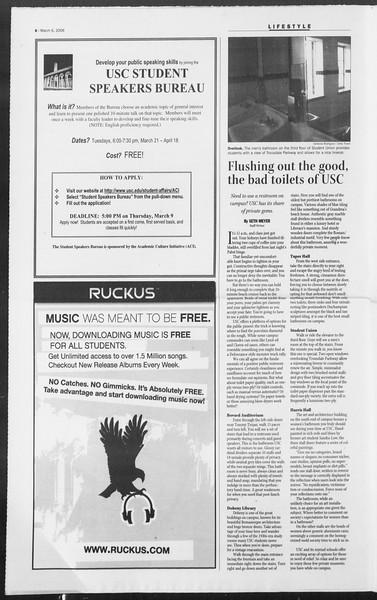 Daily Trojan, Vol. 157, No. 36, March 06, 2006