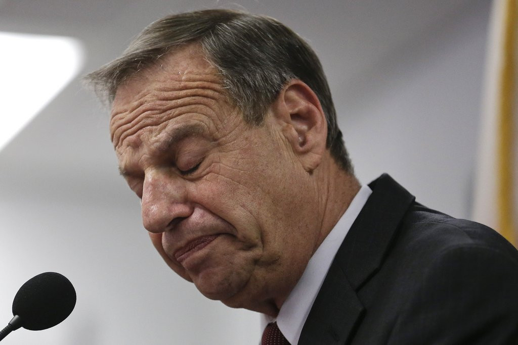 ". <p>9. BOB FILNER  <p>San Diego�s hands-on mayor now has enough sexual harassment accusers to field TWO baseball teams. (unranked) <p><b><a href=\'http://ktla.com/2013/08/21/businesswoman-becomes-mayor-bob-filners-18th-accuser/#axzz2cctvDc4g\' target=""_blank\""> HUH?</a></b> <p>   (AP Photo/Gregory Bull)"
