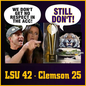 2020 LSU National Championship New Orleans