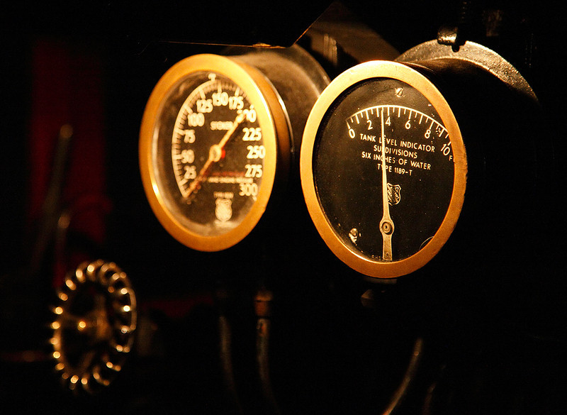 Gauges - Milwaukee Road 261 (American Locomotive Company 4-8-4)