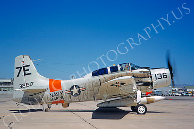 US Marine Corps Douglas A-1 Skyraider Military Airplane Pictures