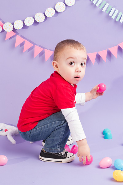 Caleb's Easter Shoot